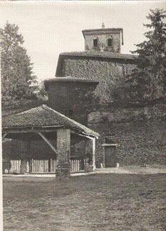 Il castello in foto non datata