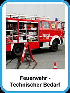 Feuerwehr Technischer Bedarf