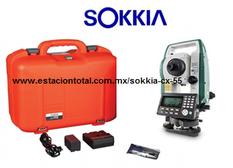 estacion total sokkia cx-55 y sus accesorios