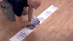 Hoe vervang je een beschadigde laminaatplank