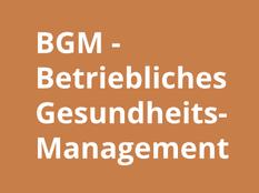 Betriebliches Gesundheits Management