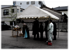 家づくりの流れ⑥ 着工・地鎮祭