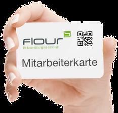Beispiel flour Mitarbeiterkarte