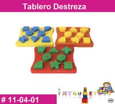 Tablero destreza MATERIAL DIDACTICO PLASTICO INTQUIETOYS PRIMERDI - copia