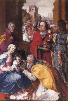 Anbetung der Heiligen Drei Könige, 1612 (Stift Melk)
