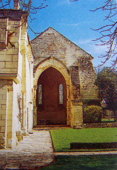 Commanderie des Moulins à Bournand - choeur de la chapelle