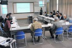 新石垣市立八重山博物館(仮称)建設基本構想検討委員会が開かれた=20日午後、大浜信泉記念館
