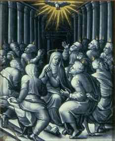 La Pentecôte, Pierre Reymond (1522)