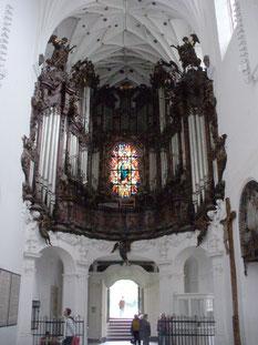 オリーヴァ大聖堂のパイプオルガン