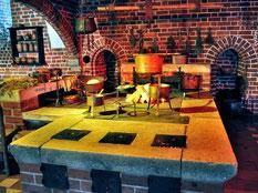 マルボルク城内のキッチン