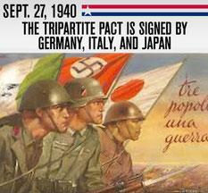 Тройственный пакт 1940, Берлинский пакт, Пакт трёх держав, ось Берлин - Рим - Токио