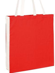 Stofftaschen Seitenfalte