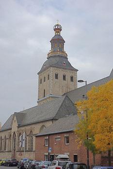 La chiesa St. Ursula dal sud
