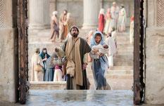 Présentation de Jésus au Temple de Jérusalem.