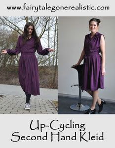 upcyclingcrew upcycling Kleid Second Hand Nähblog Deutschland Modeblog Fairy Tale Gone Realistic