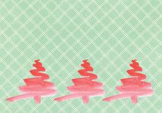 Grußkarte Weihnachten Tannenbaum