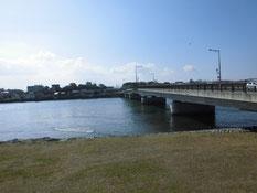 遠賀川 芦屋橋周辺