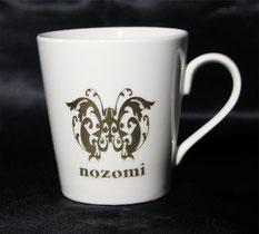 お名前やオリジナルデザインを彫刻した一点物のマグカップ