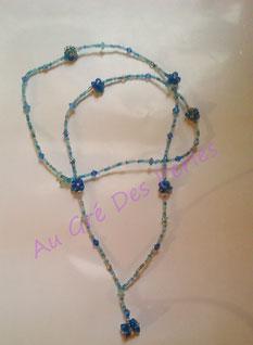 Ras de cou : Perles de Rocailles
