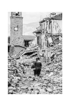 """WORDLESS"", Amatrice - Terremoto Centro Italia: Per Non Dimenticare ~ PhotoVogue Italia by VOGUE. © Luca Cameli Photographer"