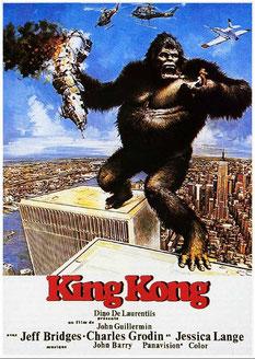 King Kong de John Guillermin - 1976 / Fantastique