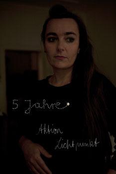 Stefanie Oeft-Geffarth, Initiatorin der Aktion Lichtpunkt