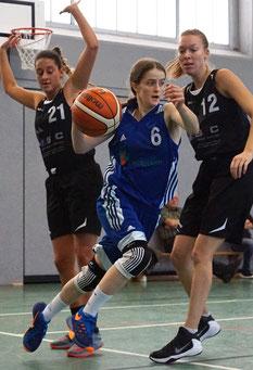 Sarah Budewig wurde mit 14 Punkten Topscorerin der Stader. (Foto: Fromme)