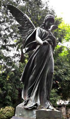 Engel Friedhof Dresden Bild: Susann Wuschko