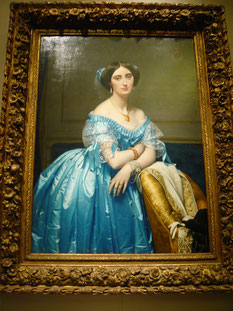 'Princess Albert de Broglie', Jean Auguste Dominique Ingres, 1853, The Metropolitan Museum of Art, picture by Nina Möller