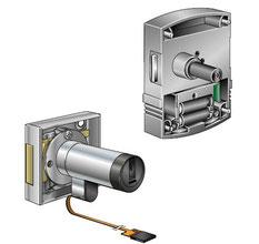 Die Kaba elolegic Schrank- und Möbelschlösser ermöglichen die Einbindung von Behältnissen in die Zutrittskontrolle.