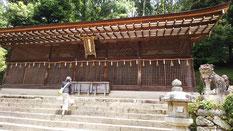 宇治神社本殿(これが世界最古の ??)