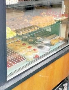 Auslage Bäckerei in Istanbul
