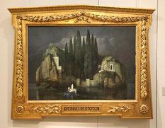 «Остров мёртвых» (Бёклин) в коллекции Эрмитажа, фото