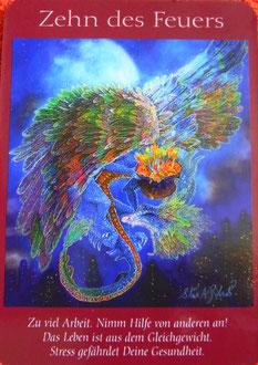 Kartenquelle: Das Engel-Tarot von Doreen Virtue