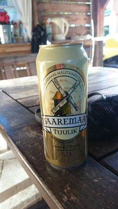 Natürlich mussten wir ein landestypisches Bier genießen