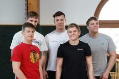 Elias Pajantschitsch, Johannes Ludescher, Lukas Hörmann Anjin Schedler , Manuel Bruckmaier