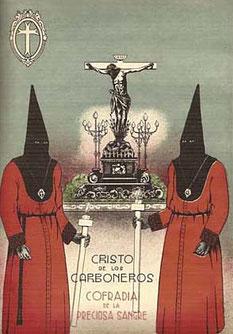 Ilustración de la Guía Oficial de Semana Santa, 1940.