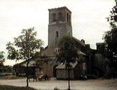 Kirche 1989 - Straßenseite