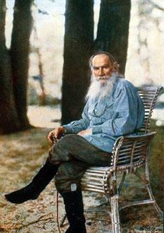 Лев Толстой. Фото.