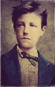 Arthur Rimbaud nel 1871 ~  foto di E. Carjat