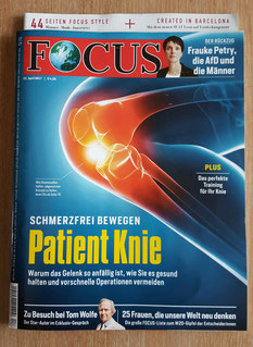 Der FOCUS-Titel 22. April 2017