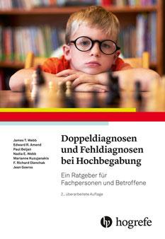 Buchcover: Doppeldiagnosen und Fehldiagnosen bei Hochbegabung