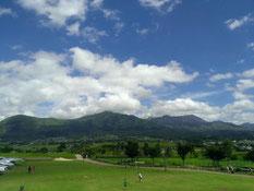 阿蘇の景色。