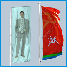 Banderas verticales publicitarias  para empresas