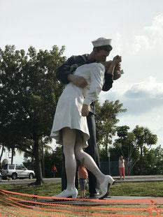 8 m hohe Statue in Sarasota