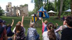 chateau d'Eaucourt adoubement