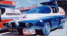 RENAULT FLORIDE BUTAGAZ      Caravane Tour de France 1960