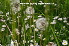 Medical Taping bij hooikoorts bij uw sportmasseur MdR Sportmassage Den Bosch