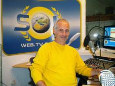 Foto Stefan Keller im SOL Radiostudio