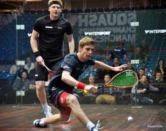 Adam Murrills in Aktion bei den Englischen Einzelmeisterschaften